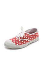 Bensimon Tennis Pois Sneakers Red
