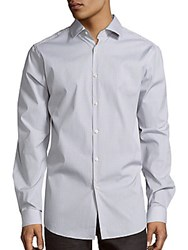 Theory Dover Button Front Shirt Quarry Multi