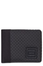 Herschel Supply Co. Edward Aspect Perforated Wallet Black