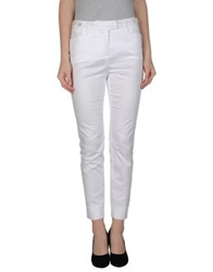 Ermanno Scervino Dress Pants White