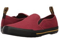 Dr. Martens Toomey Cherry Red Canvas Men's Boots