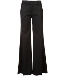 Nili Lotan Flared Trousers Black