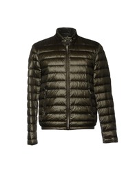 Piero Guidi Down Jackets Dark Green