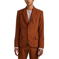 Martin Grant Wool One Button Sportcoat Orange
