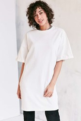 Silence And Noise Buster Cocoon Tee Dress White