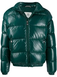 Pyrenex Feather Down Padded Jacket Green