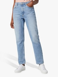 French Connection Palmira Straight Leg Jeans Light Blue