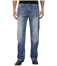 Rock And Roll Cowboy Double Barrel Relax M0s2181 Medium Wash Men's Jeans Navy