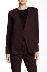 Dex Textured V Neck Blazer Multi