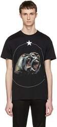 Givenchy Black Monkey Brothers T Shirt