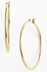 Women's Bony Levy 14K Gold Hoop Earrings Yellow Gold Nordstrom Exclusive