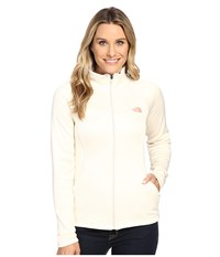 The North Face Agave Full Zip Vintage White Heather Women's Sweatshirt