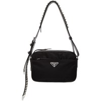 Prada Black Studded Nylon Bag