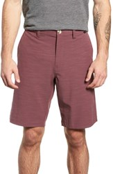 Travis Mathew Tuner Shorts Eggplant