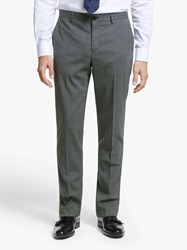 Paul Smith Wool Stretch Tailored Fit Suit Trousers Grey