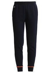 Lacoste Sport Tracksuit Bottoms Navy Blue Fluo Energy
