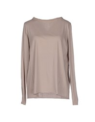 Toy G. Topwear T Shirts Women Beige