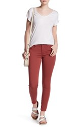 Democracy Freedom Ankle Skimmer Jean Red