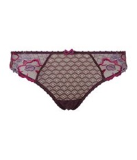 Aubade Swinging Night Thong Purple