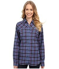 Columbia Saturday Trail Ii Flannel Shirt Nocturnal Women's Long Sleeve Button Up Black
