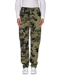 Obey Trousers Casual Trousers Men Military Green