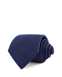 Thomas Pink Newham Plain Woven Classic Tie Navy