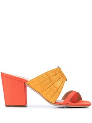 Rosie Assoulin Pleated Funky Toe Mules 60