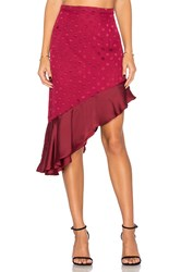 Lovers Friends Rhapsody Skirt Red