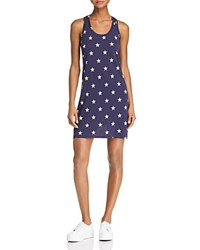 Alternative Apparel Effortless Star Print Tank Dress Midnight Stars