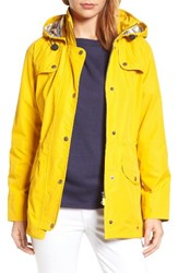 Barbour Women's Trevose Waterproof Hooded Jacket Canary Yellow