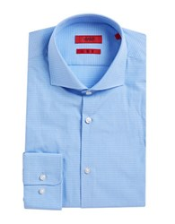 Hugo Boss Micro Check Dress Shirt Light Pastel