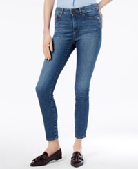 Max Mara Weekend Skinny Cropped Jeans Midnight Blue