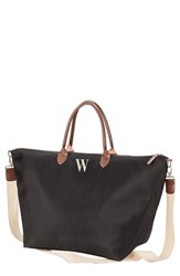 Cathy's Concepts Monogram Oversized Tote Grey Black W