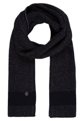 Marc O'polo Scarf Deep Ocean Dark Blue