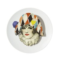 Christian Lacroix Love Who You Want 'Miss Harlequin' Dessert Plate