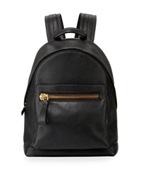 Tom Ford Textured Leather Backpack Black