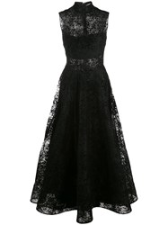 Christian Siriano High Neck Lace Dress 60