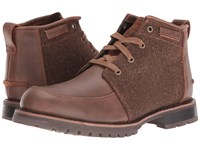 Caterpillar Russell Tater Wool Men's Lace Up Boots Brown