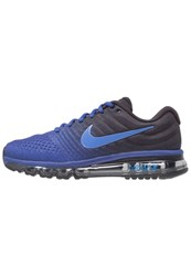 Nike Performance Air Max 2017 Neutral Running Shoes Deep Royal Blue Hyper Cobalt Black