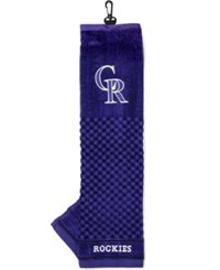 Team Golf Colorado Rockies Trifold Towel Team Color