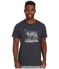 Oakley Cali Xray Tee Graphite Men's T Shirt Gray