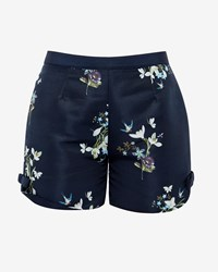 Ted Baker Anthia Entangled Enchantment Shorts Dark Blue