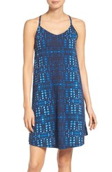 Patagonia Women's Edisto A Line Dress Tidewater Navy Blue