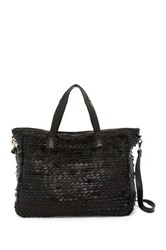 Day And Mood Jamie Leather Weekend Bag Black