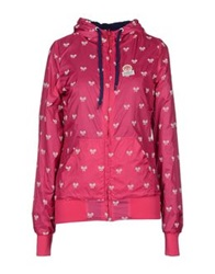 Franklin And Marshall Jackets Fuchsia