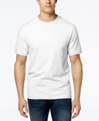 Club Room Men's Paxton Crew Neck T Shirt Only At Macy's Bright White