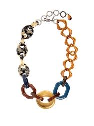 Max Mara Lea Necklace Brown Multi