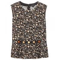 Marc Jacobs Printed Cotton Top