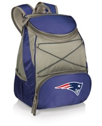 Picnic Time New England Patriots Ptx Backpack Cooler Blue Gray