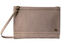 The Sak Iris Demi Clutch Mocha Sparkle Clutch Handbags Brown